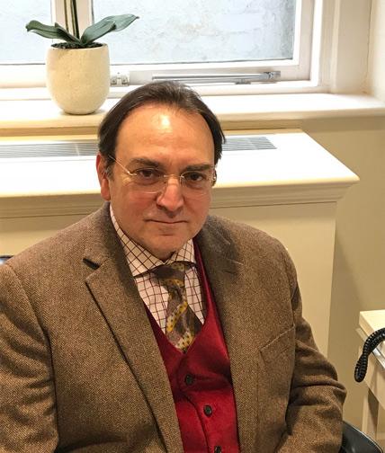 Dr Spyros Karvounis, Consultant Psychiatrist